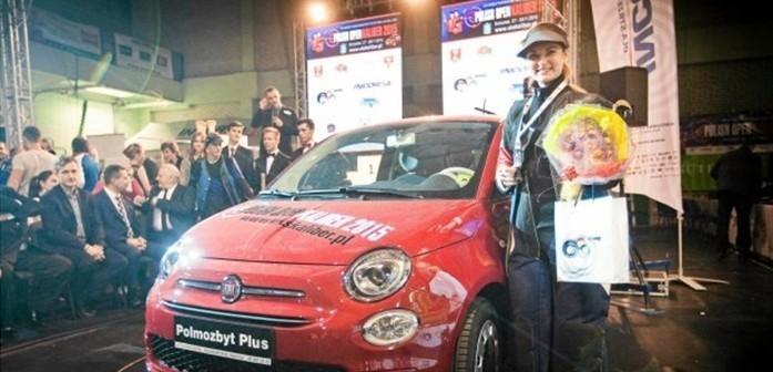Ukrainka wygrała Fiata 500