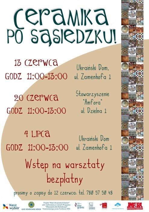 ceramika plakat NEW6