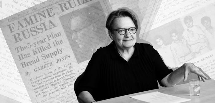 Agnieszka Holland nakręci film o dziennikarzu, który ujawnił światu prawdę o Wielkim Głodzie