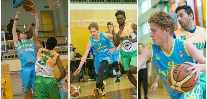 Ukraińska reprezentacja w Polskiej międzynarodowej lidze koszykówki