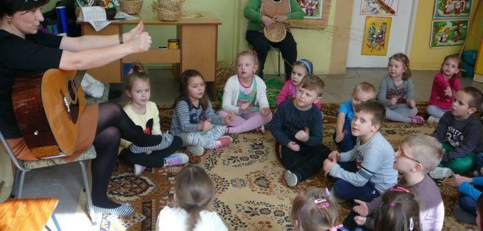 Zajęcia języka ukraińskiego w Przedszkolu nr 9 w Bielsku Podlaskim