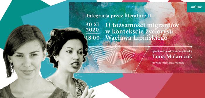 Online-spotkanie z ukraińską pisarką Tanią Malarczuk
